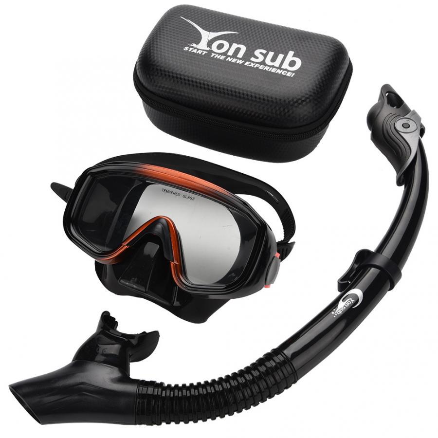 Diving Snorkel Set Scuba Mask Goggles Snorkeling Scuba Underwater Swimming Glasses Snorkel Set Diving Equipment(China)