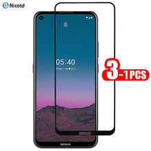3 1Pcs Full Cover Screen Protective Glass For Nokia 5.4 9H Full Glue Explosion proof Tempered Glass For Nokia 3.4 Screen Glass