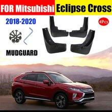 Брызговики передние и задние для mitsubishi eclipse cross 2018