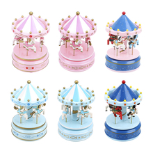 NICEYARD Music Boxes Kid Toy Carousel Box