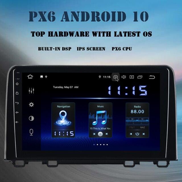 "Dasaita 9"" Android 10.0 Multimedia Player for Honda CR V 2018 2019 Car Radio DSP Navigator CarPlay GPS 4GB+64GB HD Screen MAX10"