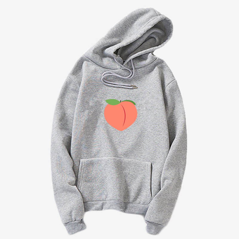 Peach Hoodies, Japanese Kawaii Milky Peach Hoody, Soft Pink Peach  Yume Kawaii, Pastel Aesthetic, Fairy Kei Casual Tops, Harajuk