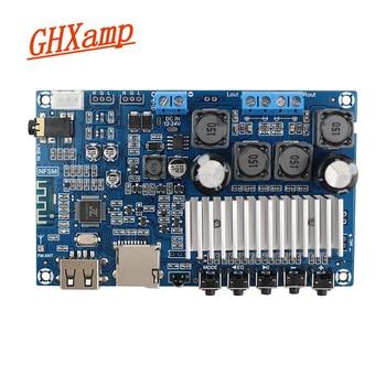 Newest Bluetooth amplifiers TPA3116 high power dual channel digital amplifier board U disk TF card decoding 50W*2