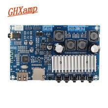 最新の bluetooth アンプ TPA3116 高電源デュアルチャネルデジタルアンプボード u ディスク tf カードのデコード 50 ワット * 2
