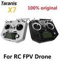 FrSky ACCST Taranis QX7 Q X7 2 4 GHz 16 каналов передатчик режим 2 для RC FPV Drone