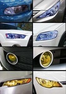 Виниловая пленка для автомобиля, 30*60 см, тонированная фотопленка, самоклеящаяся противотуманная фара, цветная пленка, 3 слойная Тонировочная наклейка| |   | АлиЭкспресс