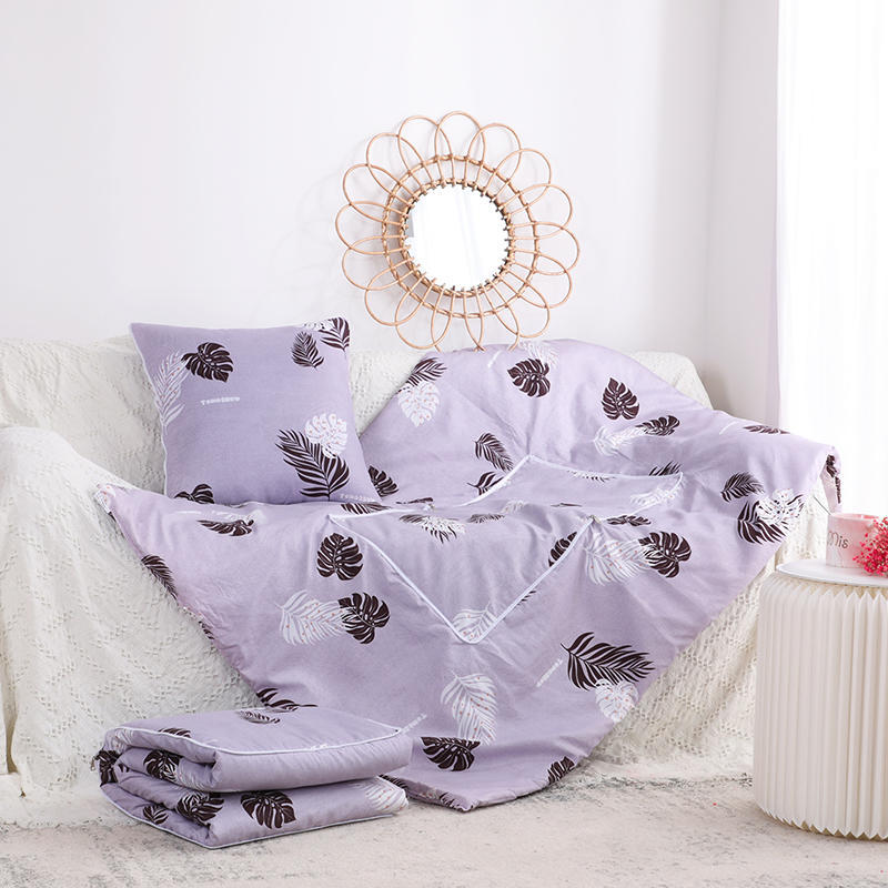 Digital Printing Dual-use Cushion Quilt Office Air Conditioning Pillow Quilt Sofa Cushion Multi-function Car Cushion