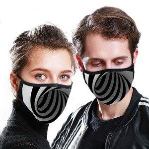 Image 4 - Masque unisexe en Fiber de bambou, Anti Pollution, Anti allergie, respirateur Anti poussière, pièce de rechange lavable, réutilisable, 4 pièces