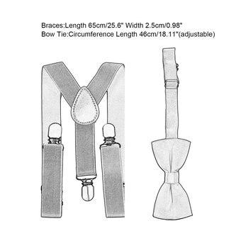 Suspenders With Bowtie Set 6