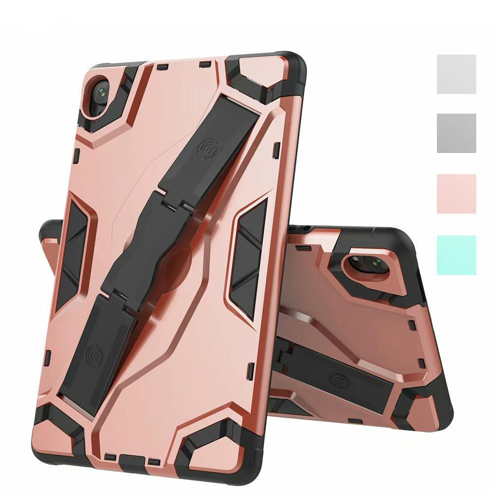 Shockproof Armor TPU+PC Portable Hand Strap Stand Tablet Cover For Huawei MediaPad M6 8.4 inch 2019 Protective Case