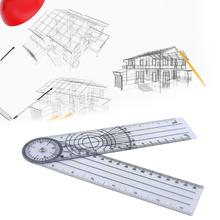 Student Ruler Office-Stationery-Supplies Multi-Function Drawing Corner 30cm-Angle-Measuring