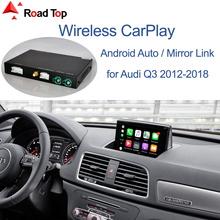 Mirror-Link Auto-Interface Apple Carplay Android Audi Q3 Wireless for with Functions