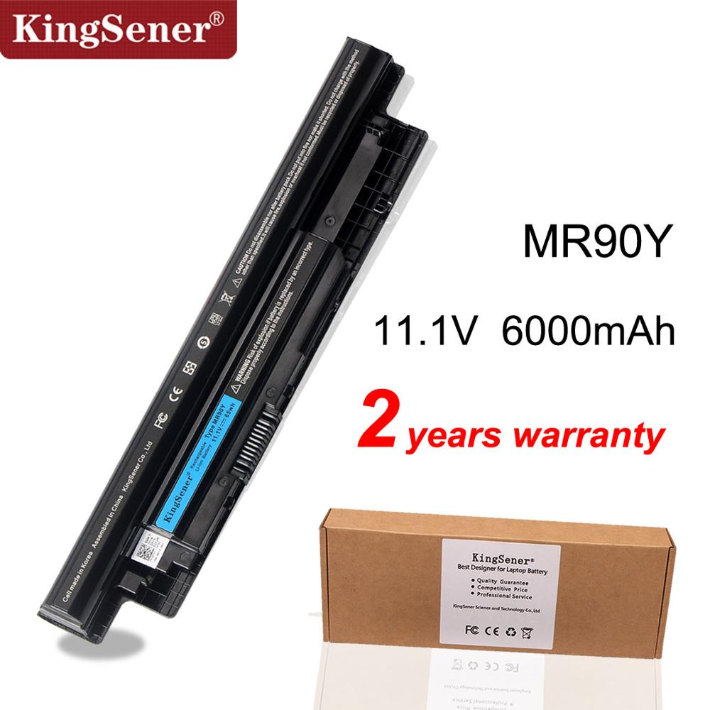 KingSener 6000mAh Korea Cell MR90Y Battery For DELL Inspiron 3421 3721 5421 5521 5721 3521 3437 3537 5437 5537 3737 5737 XCMRD