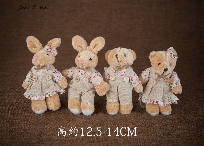 bonito coelho urso boneca fotografia prop urso