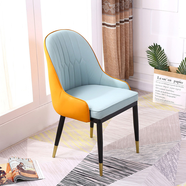 Nordic Dining Chair Home Stool Simple Modern Makeup Backrest Backrest Ins Net Red Chair Desk Chair 2