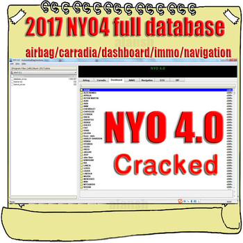 2017 NYO 4 pełna baza danych poduszka powietrzna + Carradio + deska rozdzielcza + IMMO + nawigacja Link do pobrania tanie i dobre opinie alansh NYO4 none Oprogramowanie Other windows xp 7 8 vista 10 english