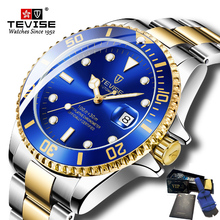 2019 Tevise Top Brand Luxury Men Mechanical Watches