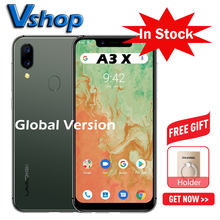 "UMIDIGI A3X Global Version Android 10 3GB+16GB 5.7"" Smartphone Dual Rear Camera 13MP Selfie MT6761 Dual 4G Triple Slots 3300mAh"