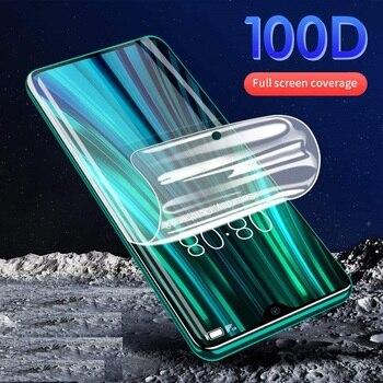 Перейти на Алиэкспресс и купить Прозрачная Гидрогелевая пленка для Vivo Y9s Z5i U20 V17 SD665 Y5s Y19 полное покрытие изогнутая мягкая защитная пленка для экрана не закаленное стекло