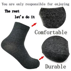 Image 3 - Men Socks Cotton Comfortable 5 Pairs/Set Boys Breathable Antibacterial Dropshipping