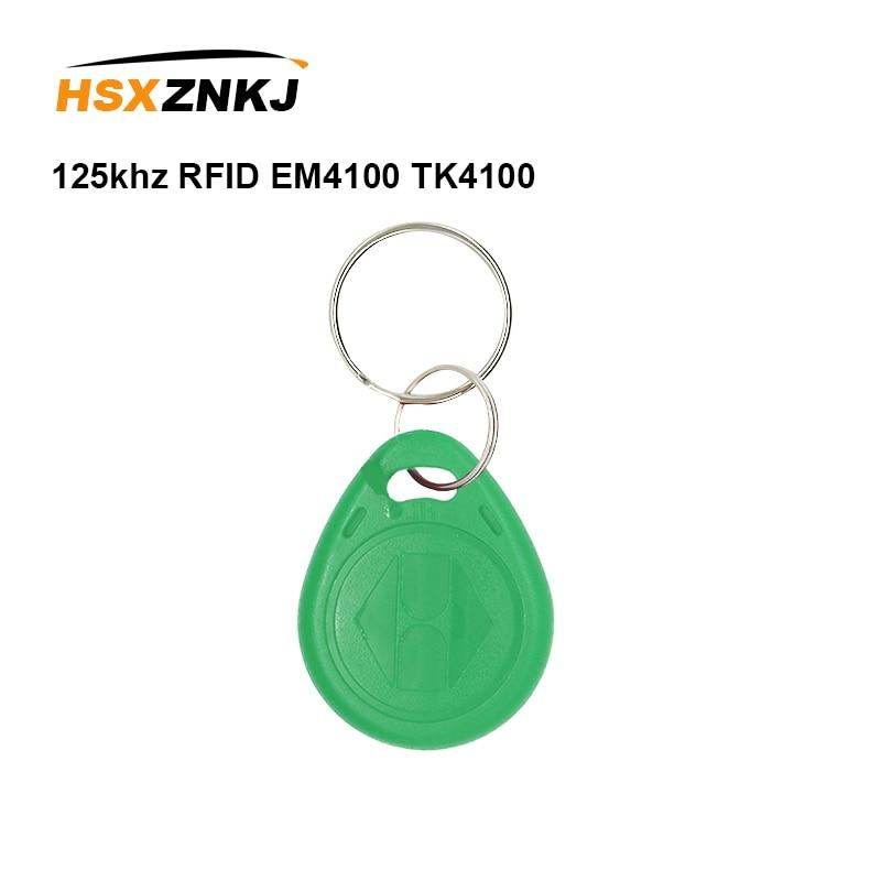 5/10Pcs/lot 125khz RFID EM4100 TK4100 Key Fobs Token Tags Keyfobs KeychainID Card Read Only Access Control  RFID Card