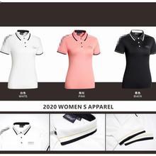 Новая одежда для гольфа, женская спортивная одежда, футболка с коротким рукавом, Весенняя и летняя быстросохнущая дышащая Повседневная Толстовка