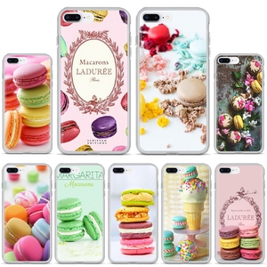 Soft Case dessert ice cream laduree Macarons For iPhone iPod Touch 11 12 Pro 4 4S 5 5S SE 5C 6 6S 7 8 X XR XS Plus Max 2020