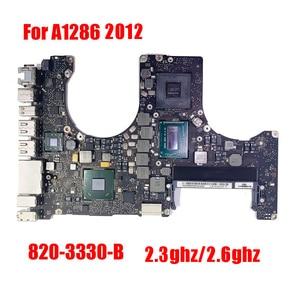 820-3330-B A1286 материнская плата для ноутбука Macbook Pro 15,4