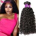 Aopusi перуанское мелирование волос пряди волнистые пряди 100% вьющиеся человеческие волосы пряди натуральных/угольно-черный Волосы Remy волос д...
