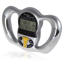 body fat monitors Handheld BMI Meter Health Fat Analyzer LCD Screen Tester Calorie Measurement Health Care body health scanner