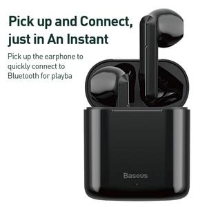 Image 4 - Baseus W09 TWS אלחוטי Bluetooth אוזניות סטריאו Bluetooth 5.0 אוזניות ספורט אמיתי אלחוטי אוזניות אוזניות עבור טלפון Xiaomi