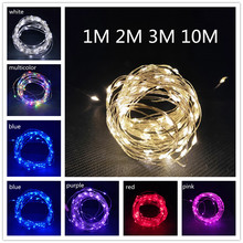 Christmas Decorations for Home for New Year 2021, Garland Fairy String Light for
