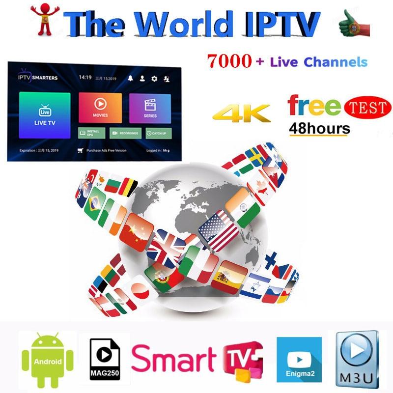Premium IP TV Subscription IPTV Spain M3u 1 Year With 7500+ Live TV & 6000+ Spanish VOD Movies HD World Europe List IPTV Server6