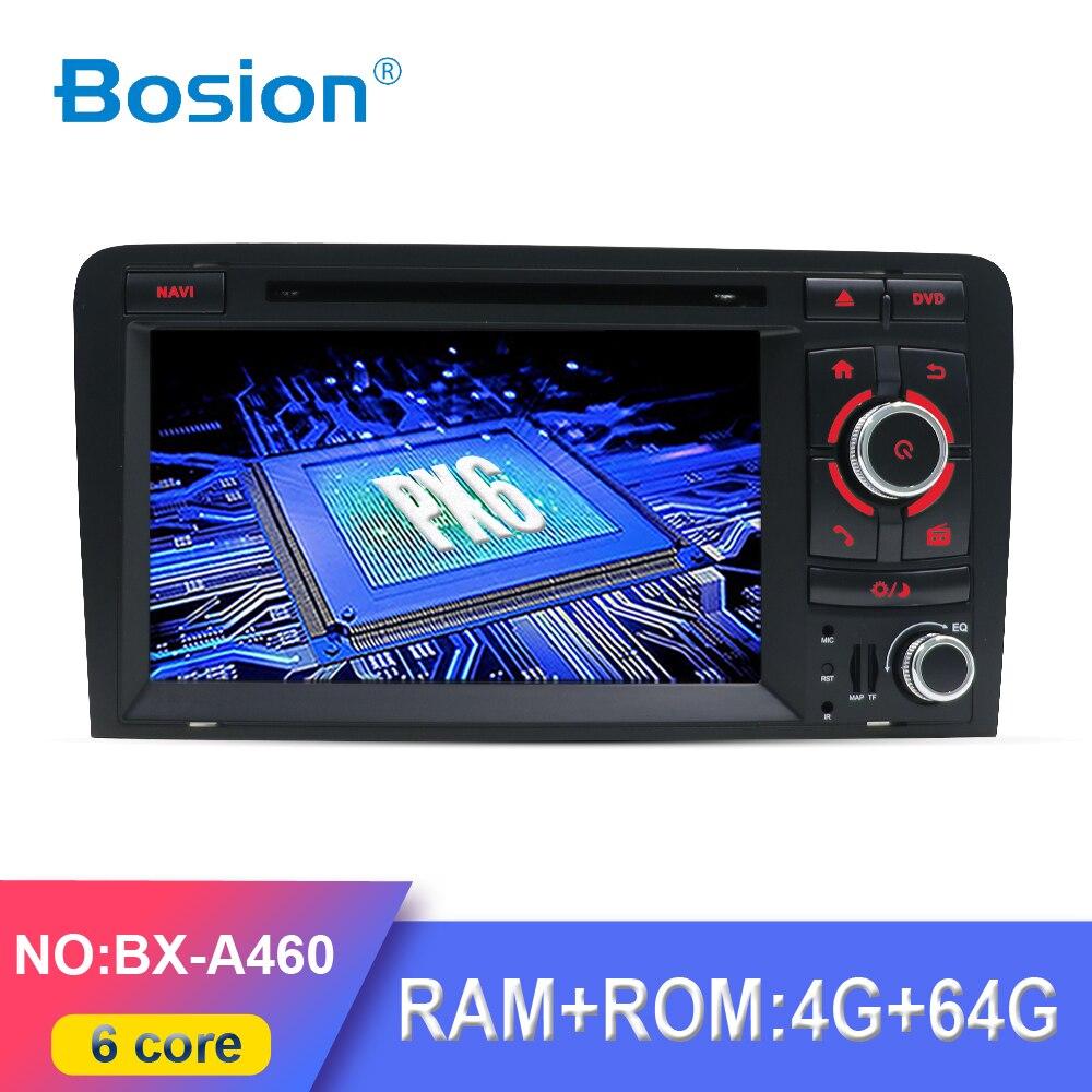 PX6 4G + 64G Android 10 автомобильный DVD GPS для Audi A3 2006-2011 с dvd-плеером Радио стерео аудио авто мультимедийный экран Навигация BT