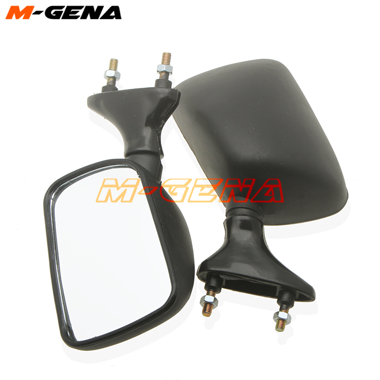 Motorcycle Rearview Side Mirrors For YAMAHA FZR250 FZR400 TZM150 TZR250 3XV
