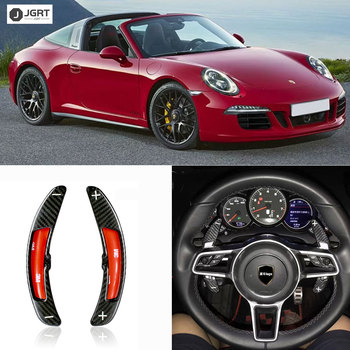 Рулевое колесо переключения весло расширение переключения Накладка для Porsche Cayenne MACAN 911