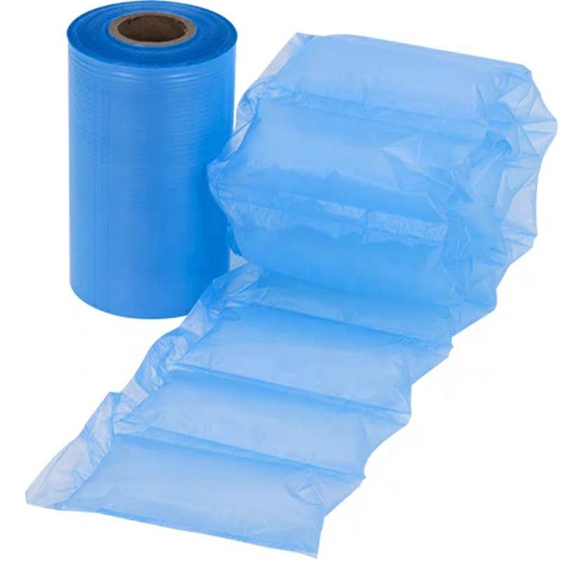 500M Bubble Roll Inflatable Filled Air Cushion Film Bag Wrap Pack  Air Packaging Materials Inflat Pillow Bag Factory Wholesale