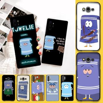CUTEWANAN New towelie episode Phone Case For Samsung Galaxy J7 J8 J6 Plus 2018 Prime Note 7 8 9 10 pro image