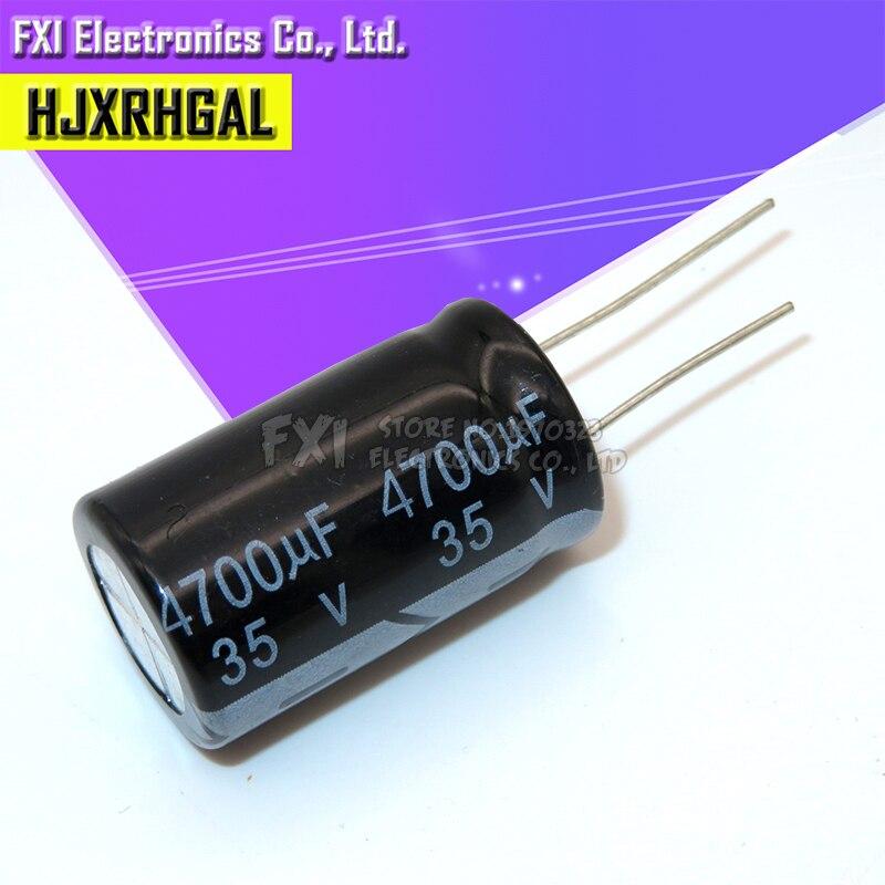 10PCS 35v4700uf 4700uf35v 18*35 Electrolytic Capacitor 35v 4700uf 18x35