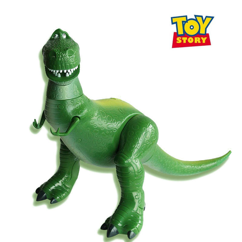 50cm Disney Toy Story 4 Movie Soundtrack Rex Dinosaur Voice Brinquedo Action Figures Toys for Children Birthday Gift 2D07 image