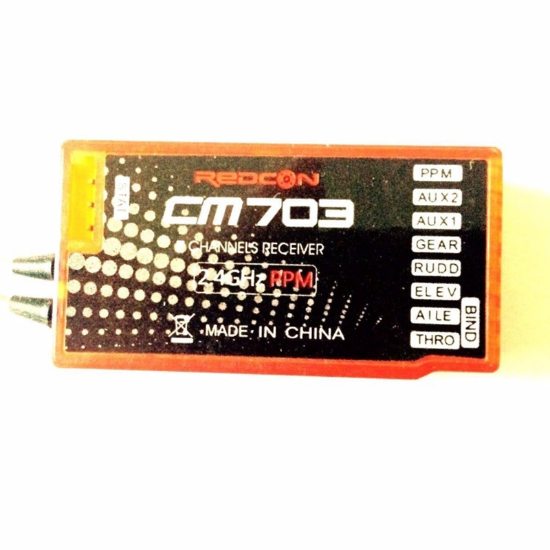 CM703 Receiver 7CH PPM PWM Output Is Suitable for FPV Drone in Replacement Parts Accessories from Consumer Electronics