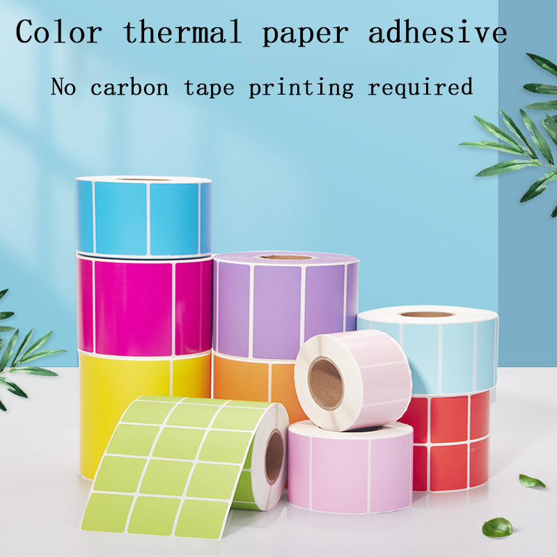 Factory direct Colorful Waterproof Sticker Printing label TOP Direct Thermal Labels Packing /Price Labels Zebra