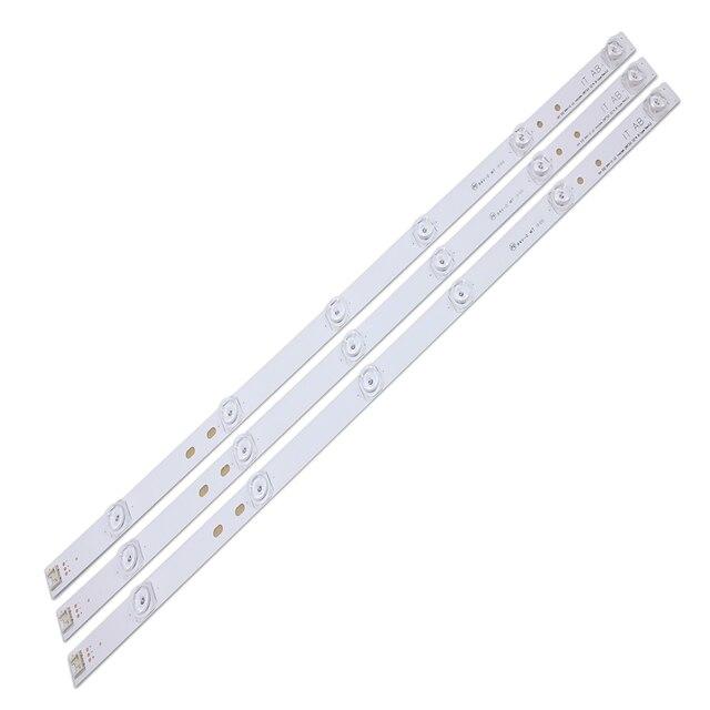"""100% NEW3pcs x טלוויזיה LED רצועות 6 מנורות עבור LG 32 """"טלוויזיה 32MB25VQ 6916l 1974A 1975A 1981A lv320DUE 32LF5800 32LB5610 innotek drt 3.0 32"""