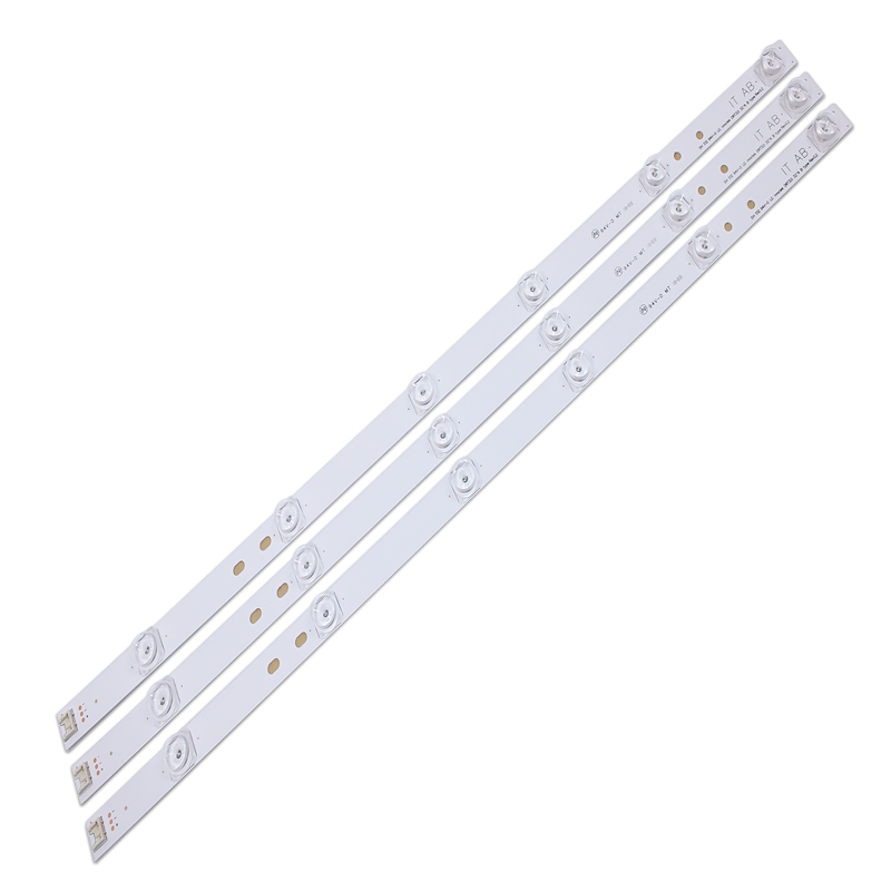 100% NEW3pcs X TV LED Strips 6-lamps For LG 32