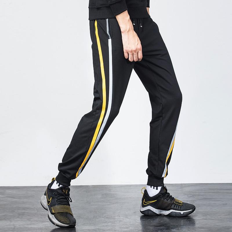 Autumn Casual Athletic Pants Korean-style Men's Skinny Harem Pants Men Closing Capri Pants Slim Fit Ankle Banded Pants Fashion P