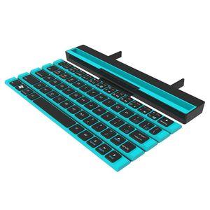 Image 4 - R4 Tragbare Rollbar Drahtlose Bluetooth Tastatur für iOS ANdroid Windows Gerät Rot, Blau, Schwarz (Optional)