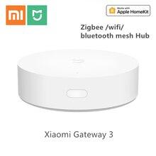 Xiaomi mi gateway 3 sensor de temperatura y humedad para el hogar, sensor de puerta y ventana, multifunción, 2020 Original