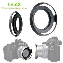 Metall Lüftete Objektiv Haube für Nikon Z50 Kamera mit NIKKOR Z DX 16 50mm f/3,5  6,3 VR objektiv