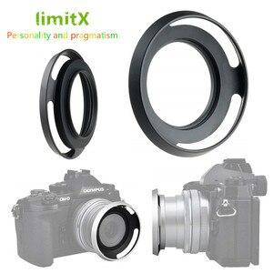 Image 1 - מתכת פרקו עדשת הוד עבור ניקון Z50 מצלמה עם NIKKOR Z DX 16 50mm f/3.5  6.3 VR עדשה