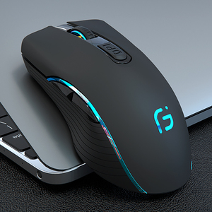 Image 2 - Rechargeable Computer Mouse Dual Mode Bluetooth 4.0 +2.4Ghz Wireless Mause 2400DPI Optical Gaming Mouse Gamer Mice for PC Laptop